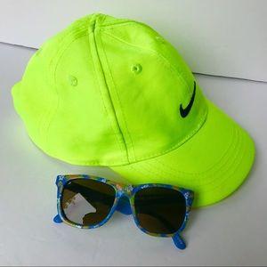 Infant Nike Ball Cap & KidSolar Sunglasses (6-12m)